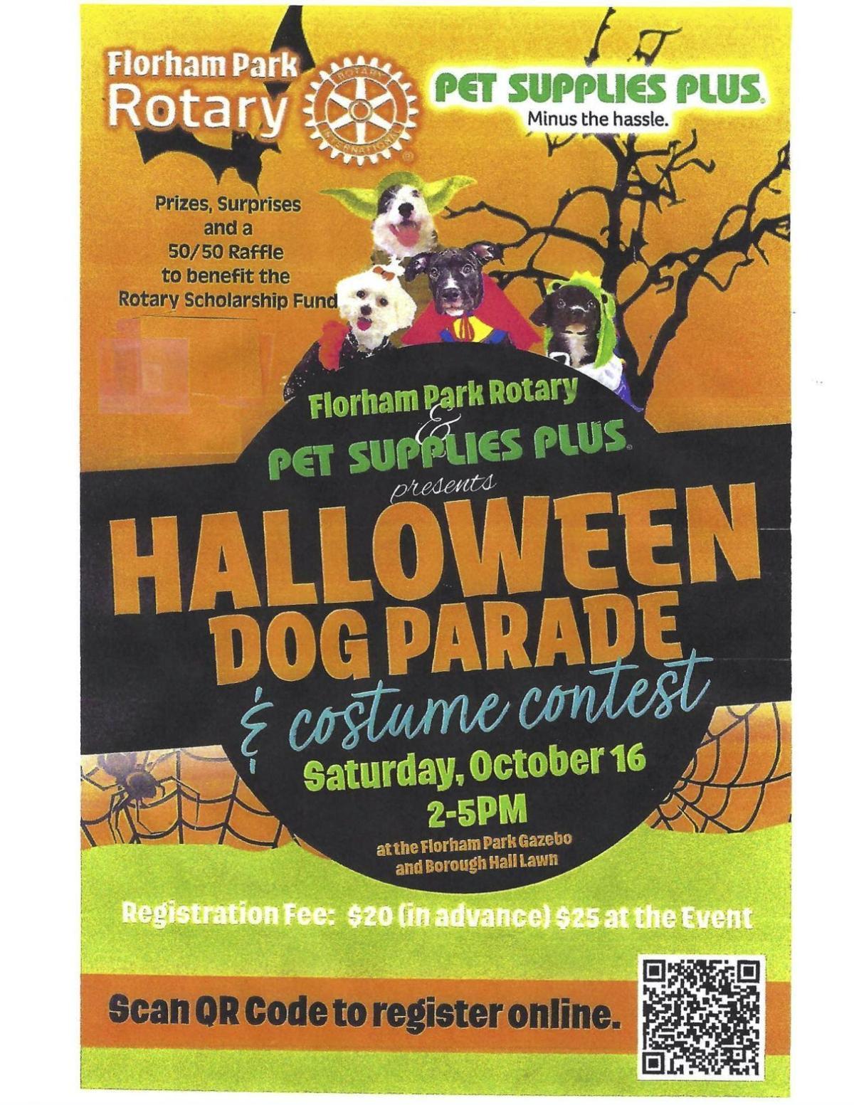 Halloween dog parade Oct. 16 in Florham Park