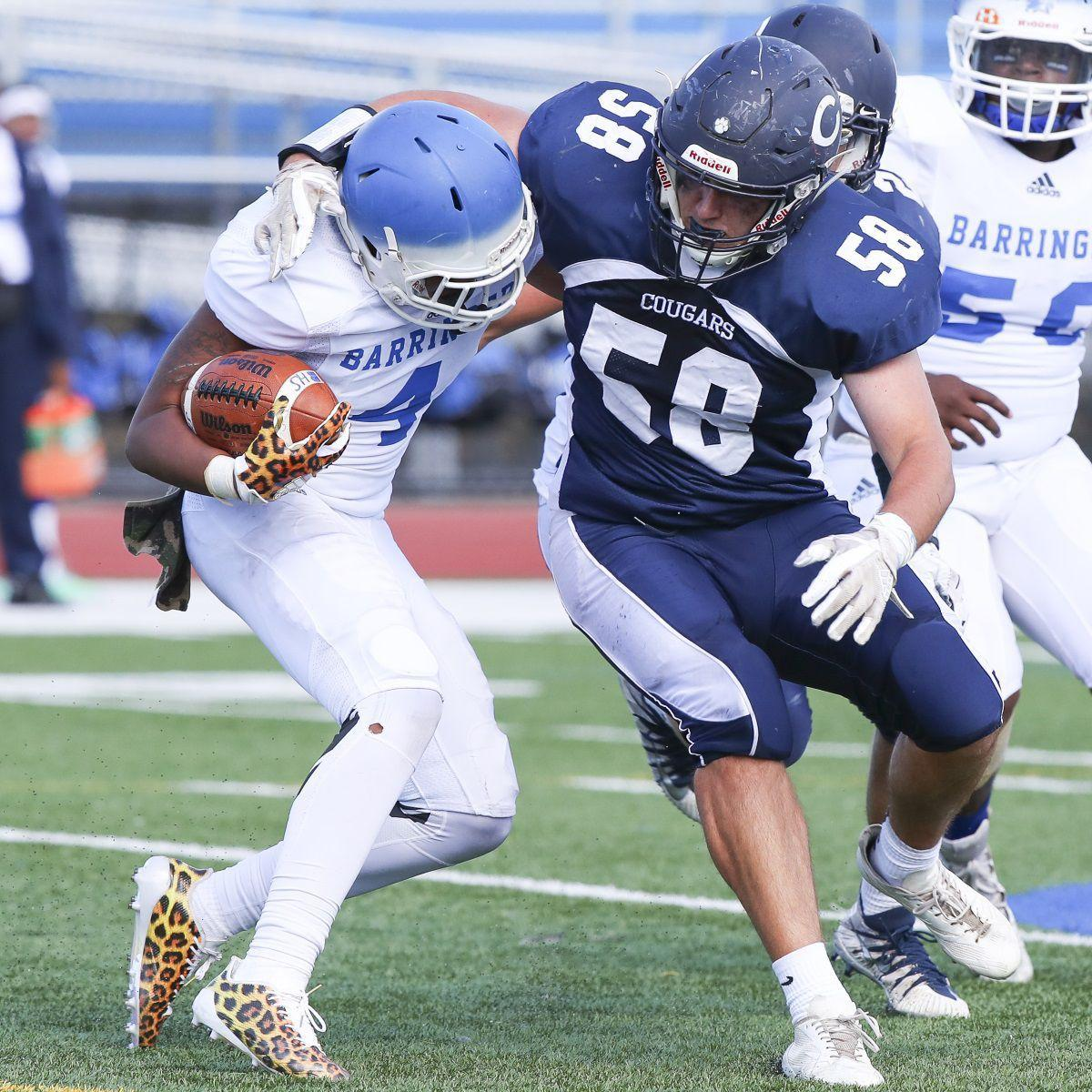 Language In 45 And 47 Stella Street: Chatham Falls To Barringer In Season Opener