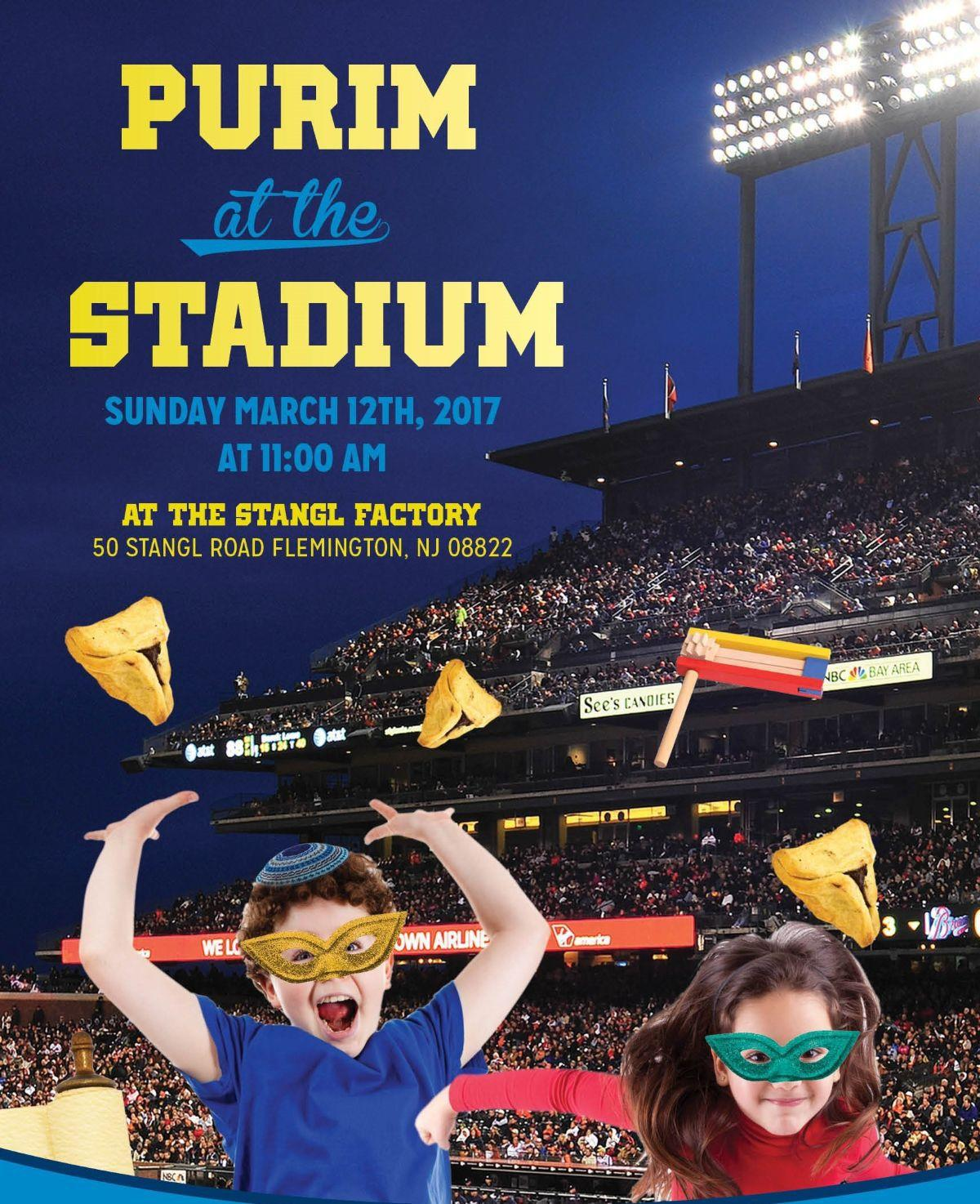 Race cars, Sparky to highlight Chabad's 'Purim in the Stadium'