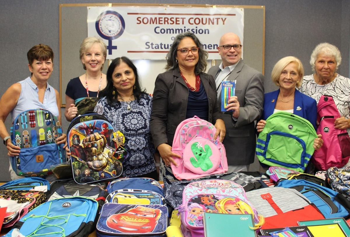 Somerset County donates school supplies to students in need