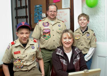 Boy Scouts enjoy spaghetti dinner in Clinton Township