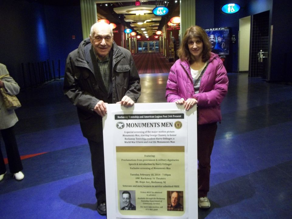'Monuments Man' honored