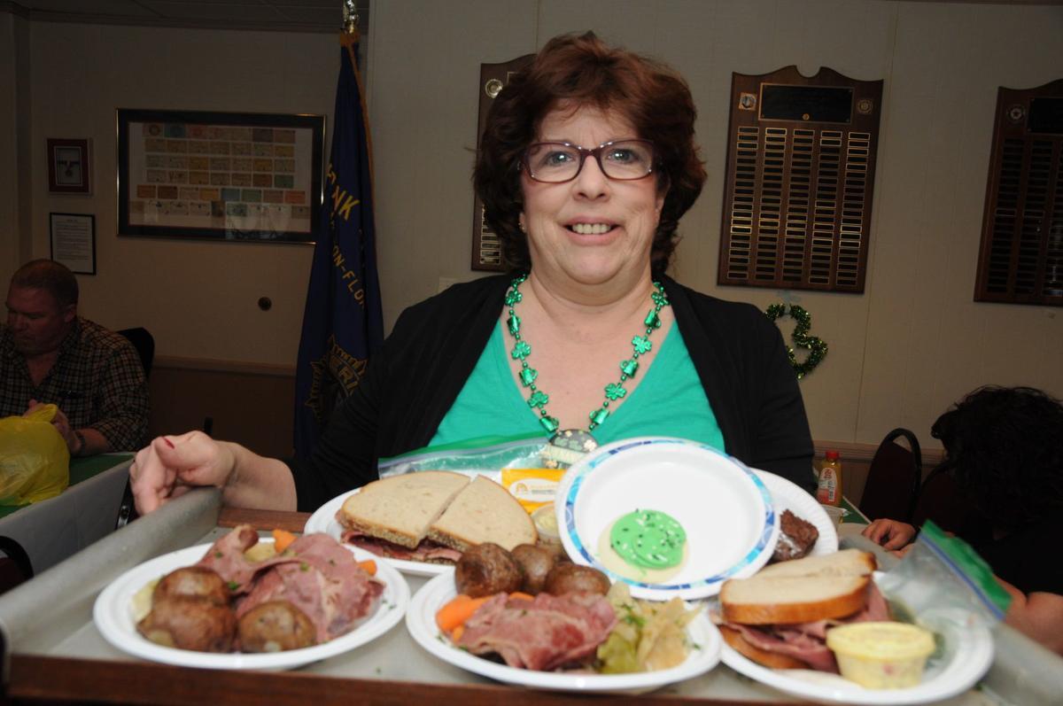 LOTS OF IRISH FOOD