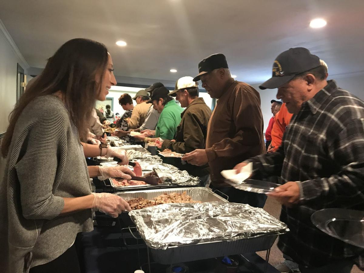 Thanksgiving for veterans