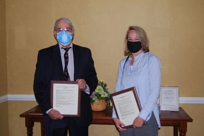 Tewksbury recognizes George Cassa, Robin Love as Citizens of the Year
