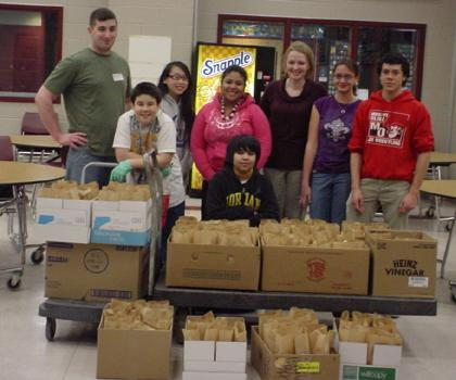 Mount Olive students reach out to homeless