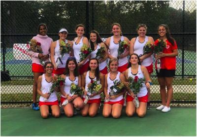 Bernards girls tennis
