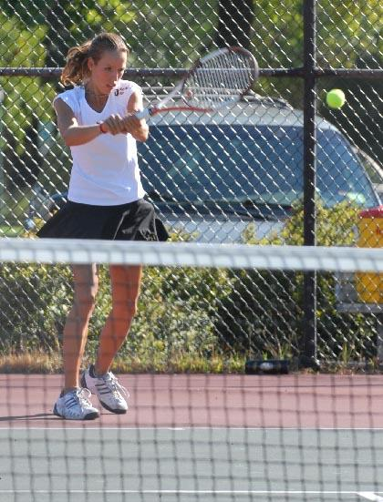 Shapoval claims county tennis title, Warriors rebound