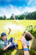 Cub Scout Rocket Launch
