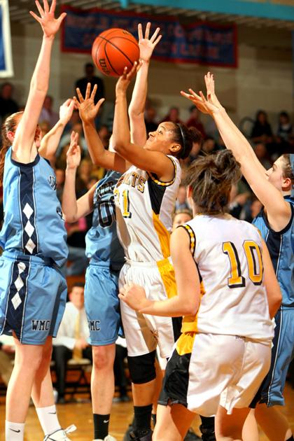 Hornet girls bow out in hoops final
