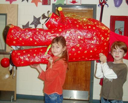 Valley View School celebrates Chinese New Year