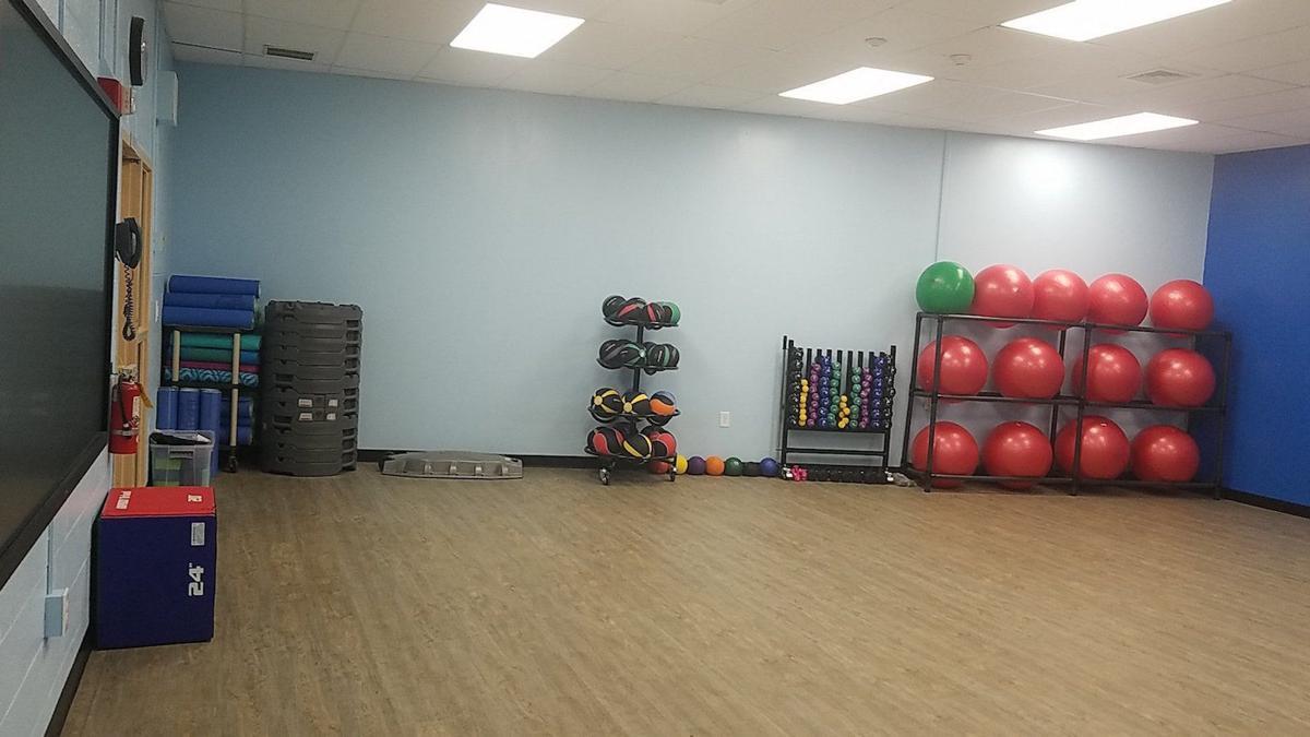 Warren Middle School wellness room