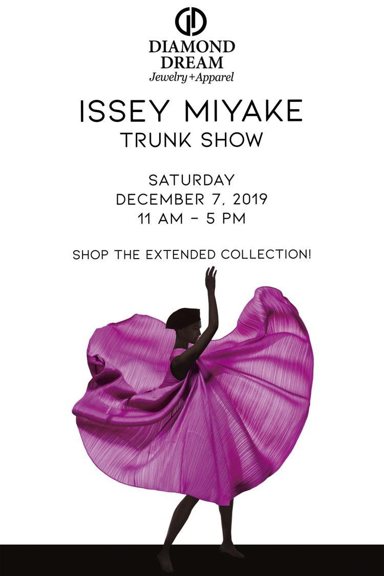 Issey Miyake Trunk Show