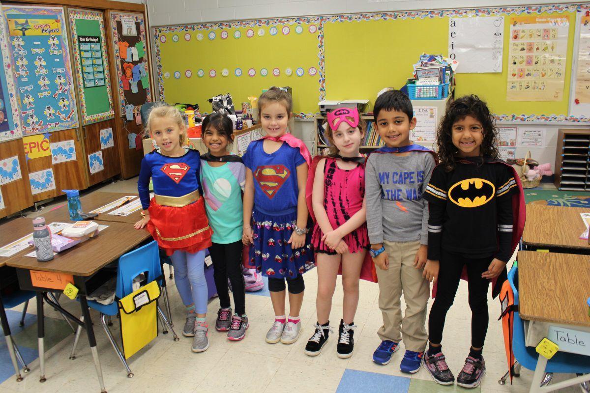 """Super Hero Day"" at Mount Horeb"