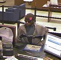 Fairfield bank robbed