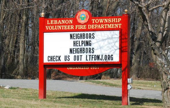 Lebanon Township Volunteer Fire Department