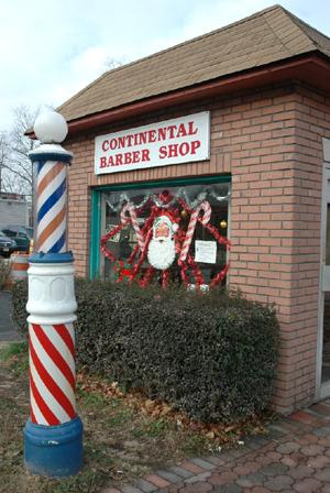 PROGRESS AND FATHER TIME CLOSE IN ON 37-YEAR BARBER SHOP