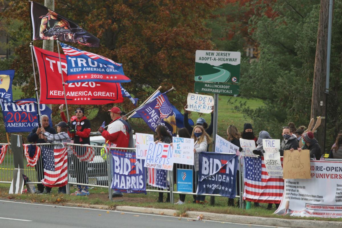 Harassment alleged in Bedminster's 'Free Speech Zone' | Bernardsville News  News | newjerseyhills.com