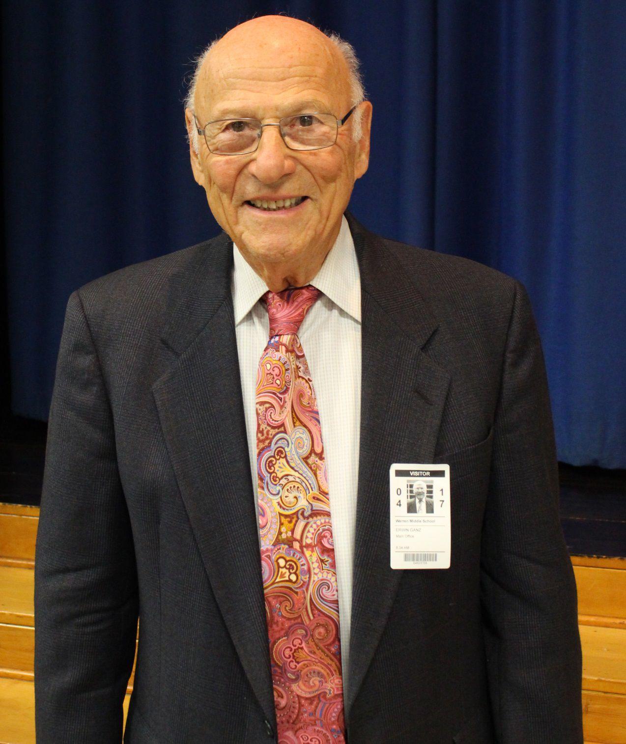Erwin Ganz Kristallnacht survivor shares his story