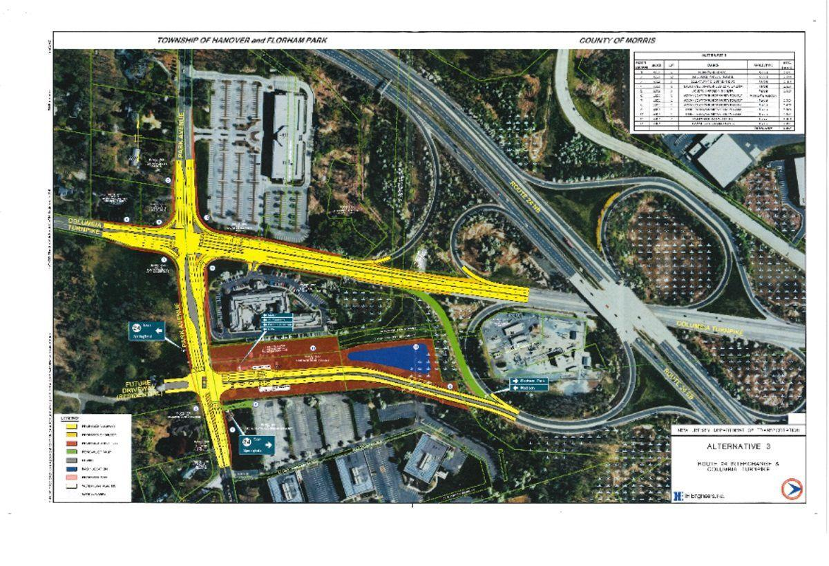 State, county officials agree on plan for Columbia Turnpike-Park Avenue intersection