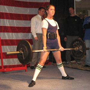 All in the family for weightlifters
