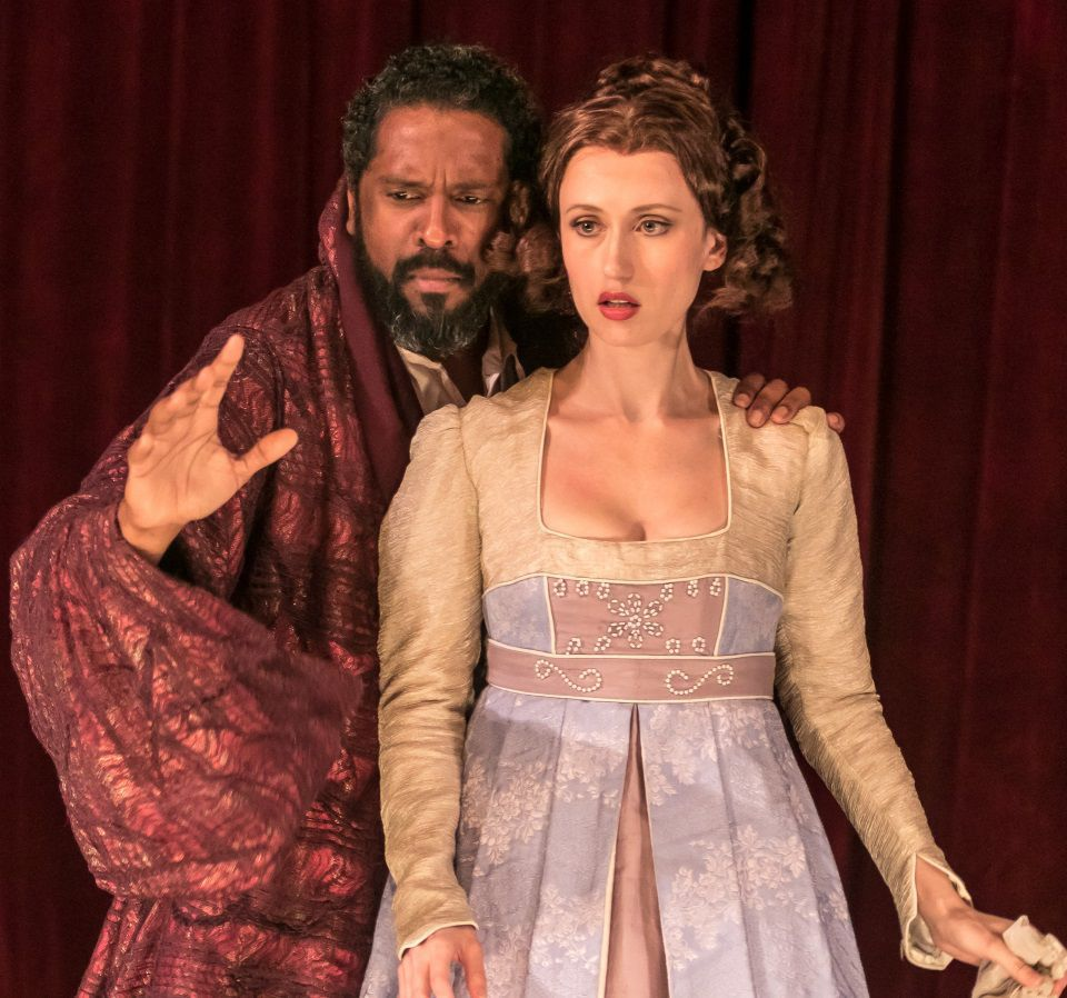 "desdemona black personals Civil war setting yields mixed results in bard  when othello marries desdemona without her father's permission, iago warns her father that ""an old black ram."