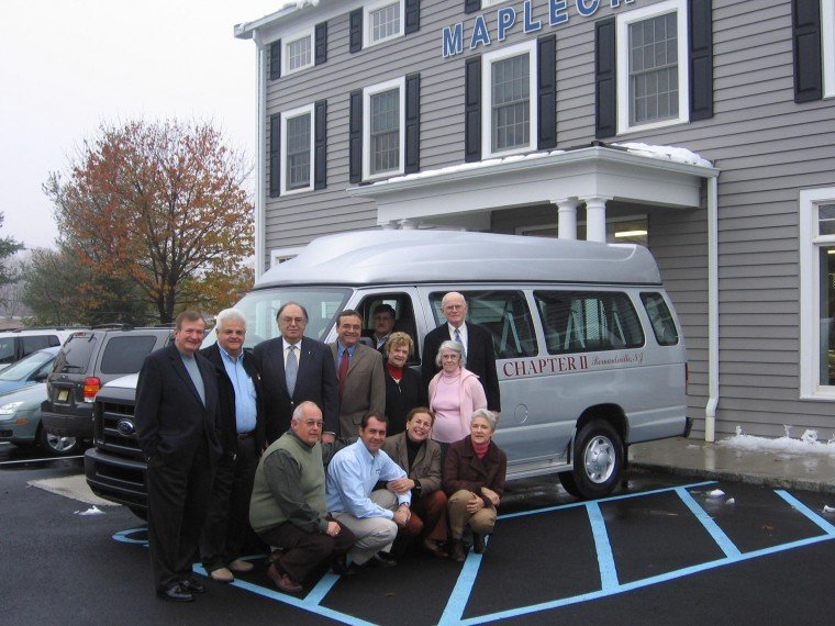 New van donated to Bernardsville seniors