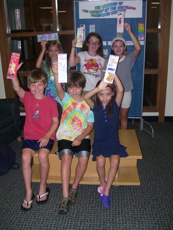 Bookmark contest winners