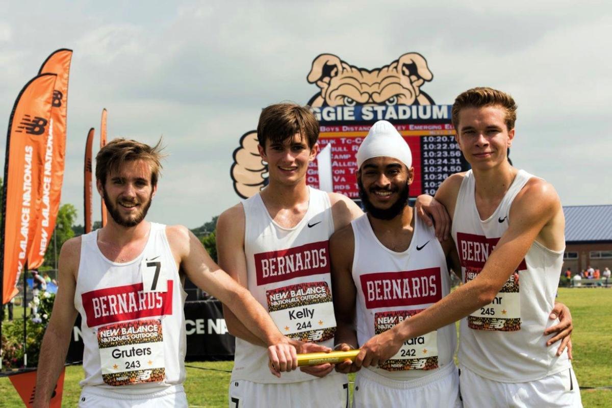 Bernards boys track