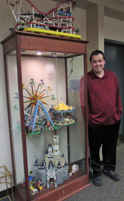 Warren man's Lego 'fantasy land'