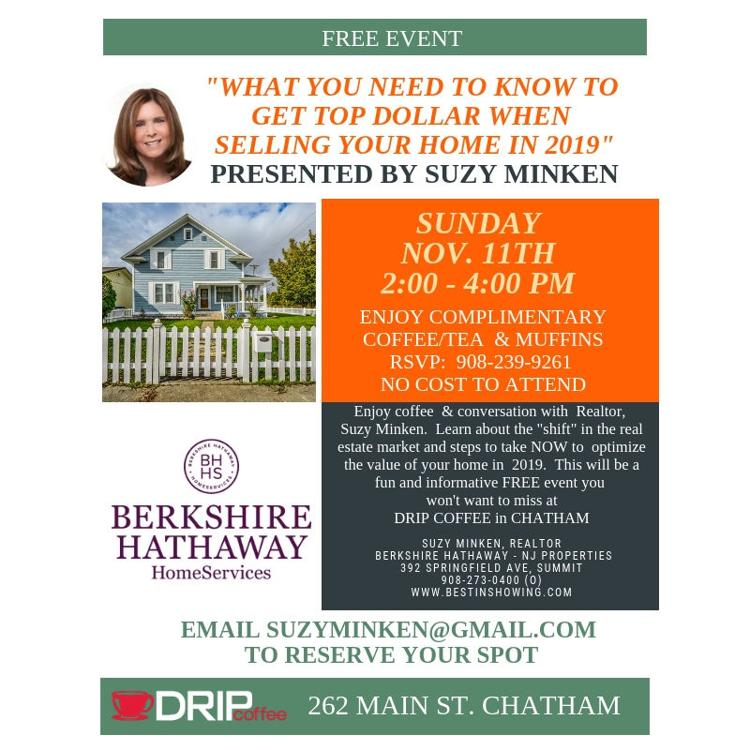 Free Real Estate Event on Nov. 11th