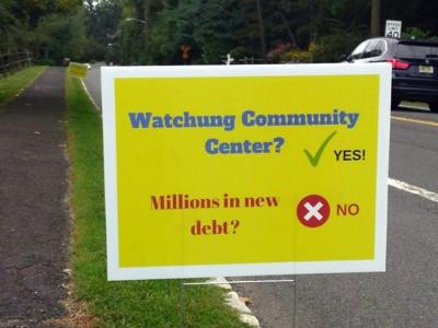 Lawn signs the latest frontier in Watchung Library debate