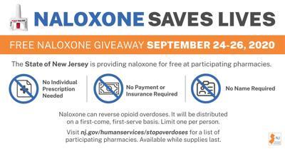 Naloxone Giveaway Dates