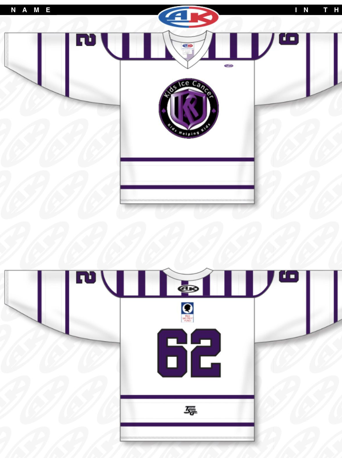 All Stars game jersey