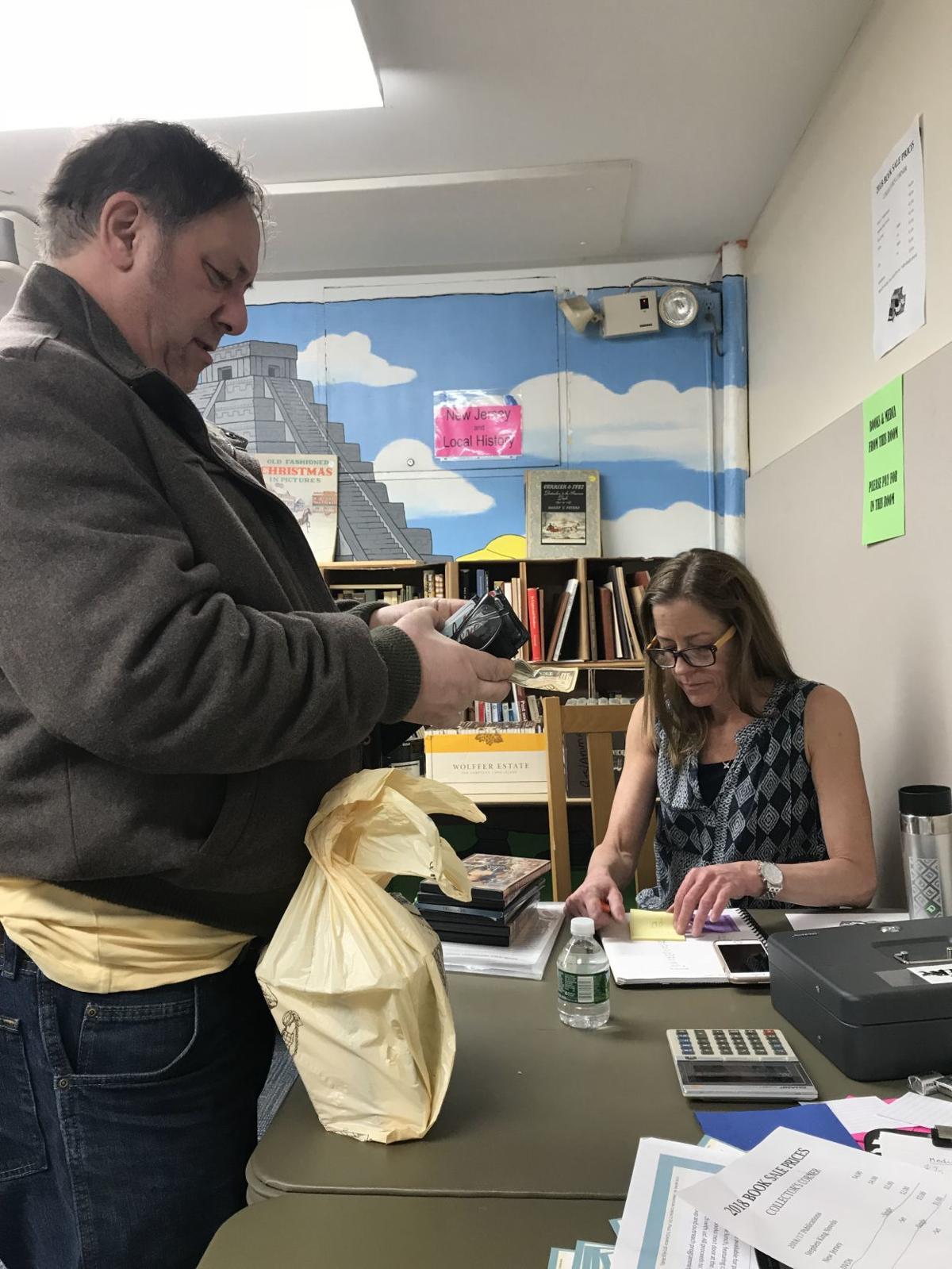 Book sale chairwoman