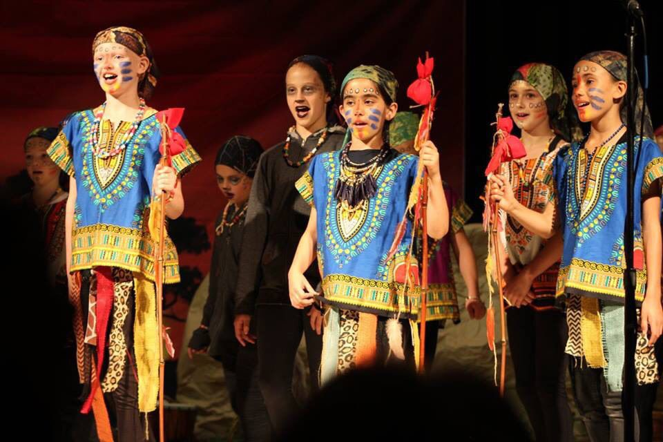 "Long Hill students, parents stage ""The Lion King: Kids"""