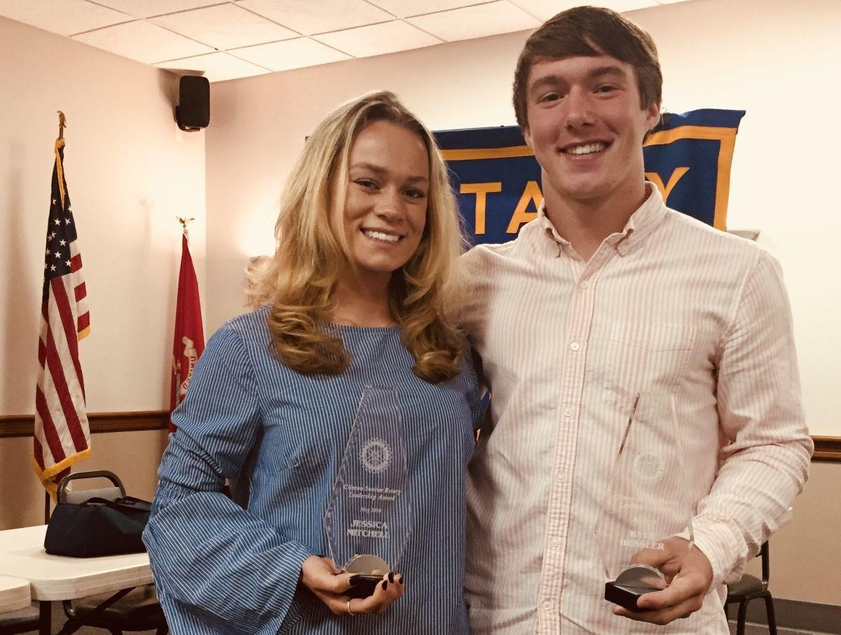 Clinton Sunrise Rotary Club celebrates North Hunterdon, Polytech students