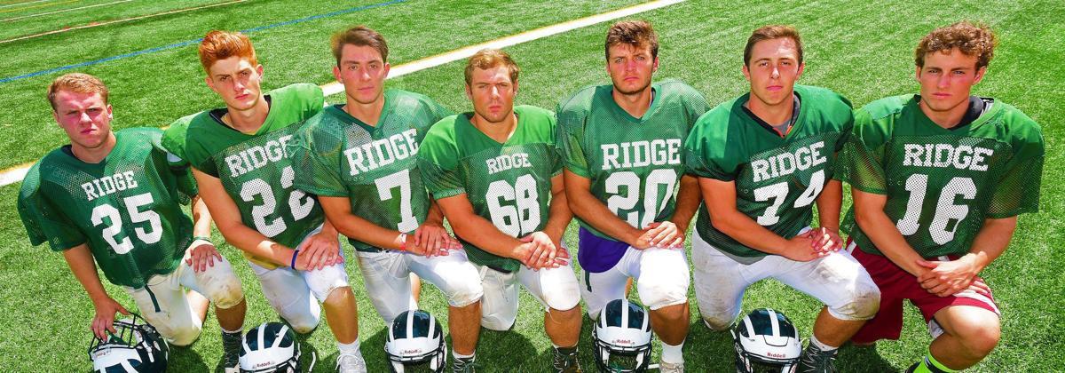 Ridge football players