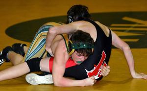 Wrestling—Knolls tops Hills