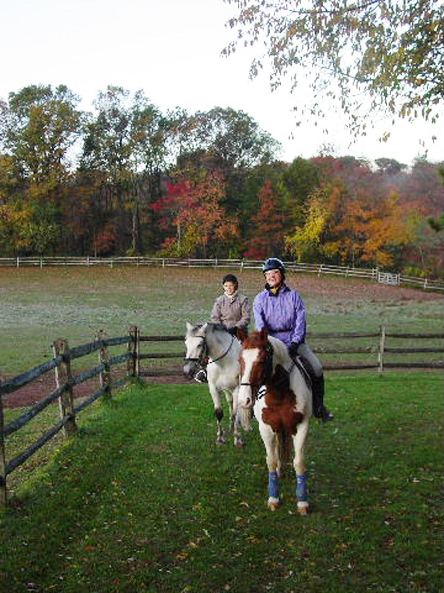 Fall Nature Ride at Lord Stirling Stable