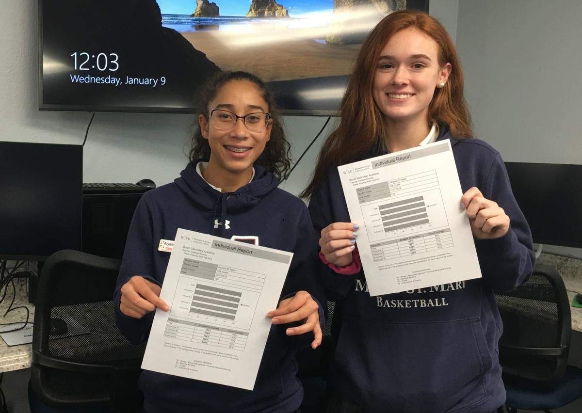 Perfect scores at Mount Saint Mary Academy