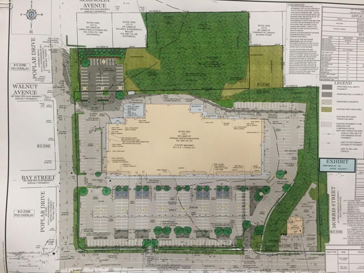 ShopRite parking lot site plan