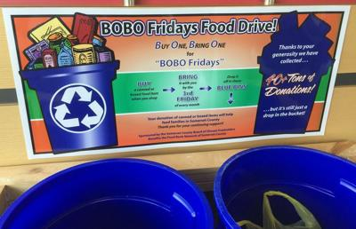 Donate canned goods at Warren, Watchung libraries