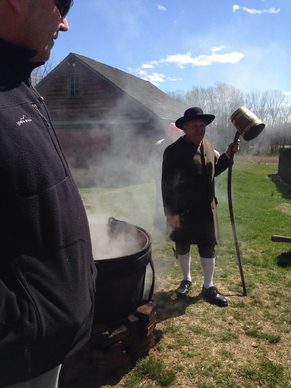 Historian brews up Colonial-style beer at Bouman-Stickney Farmstead