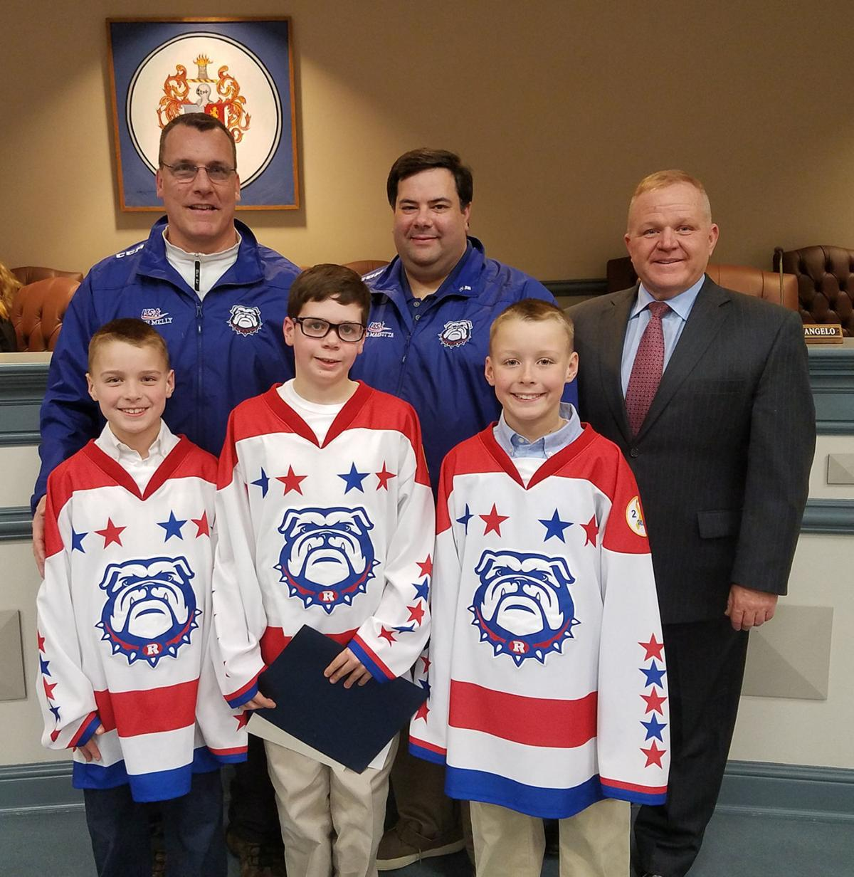 Honored Hockey Players