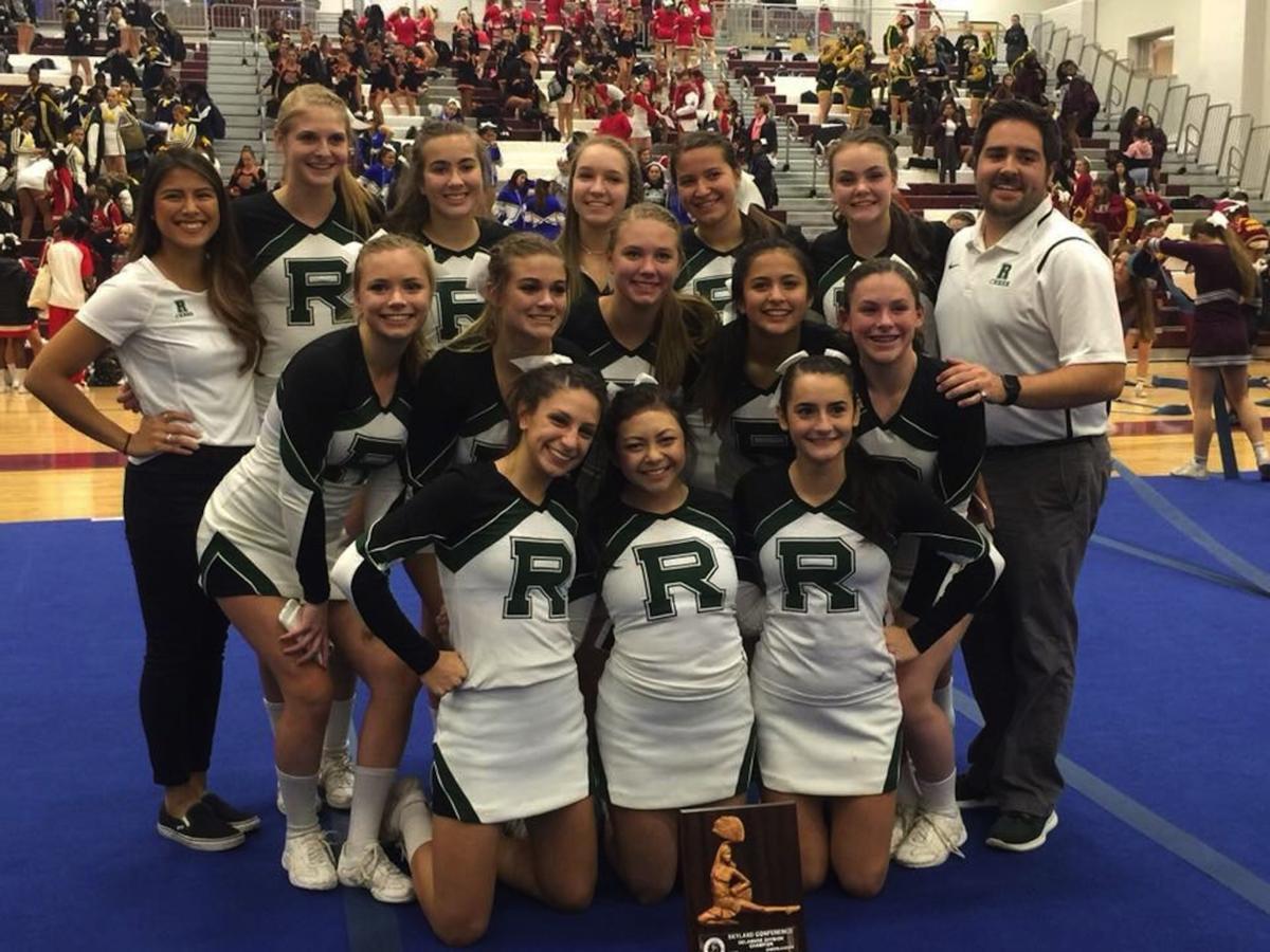 Ridge cheer competition squad