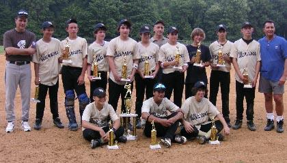 Watchung Hills 13U team wins 2 titles