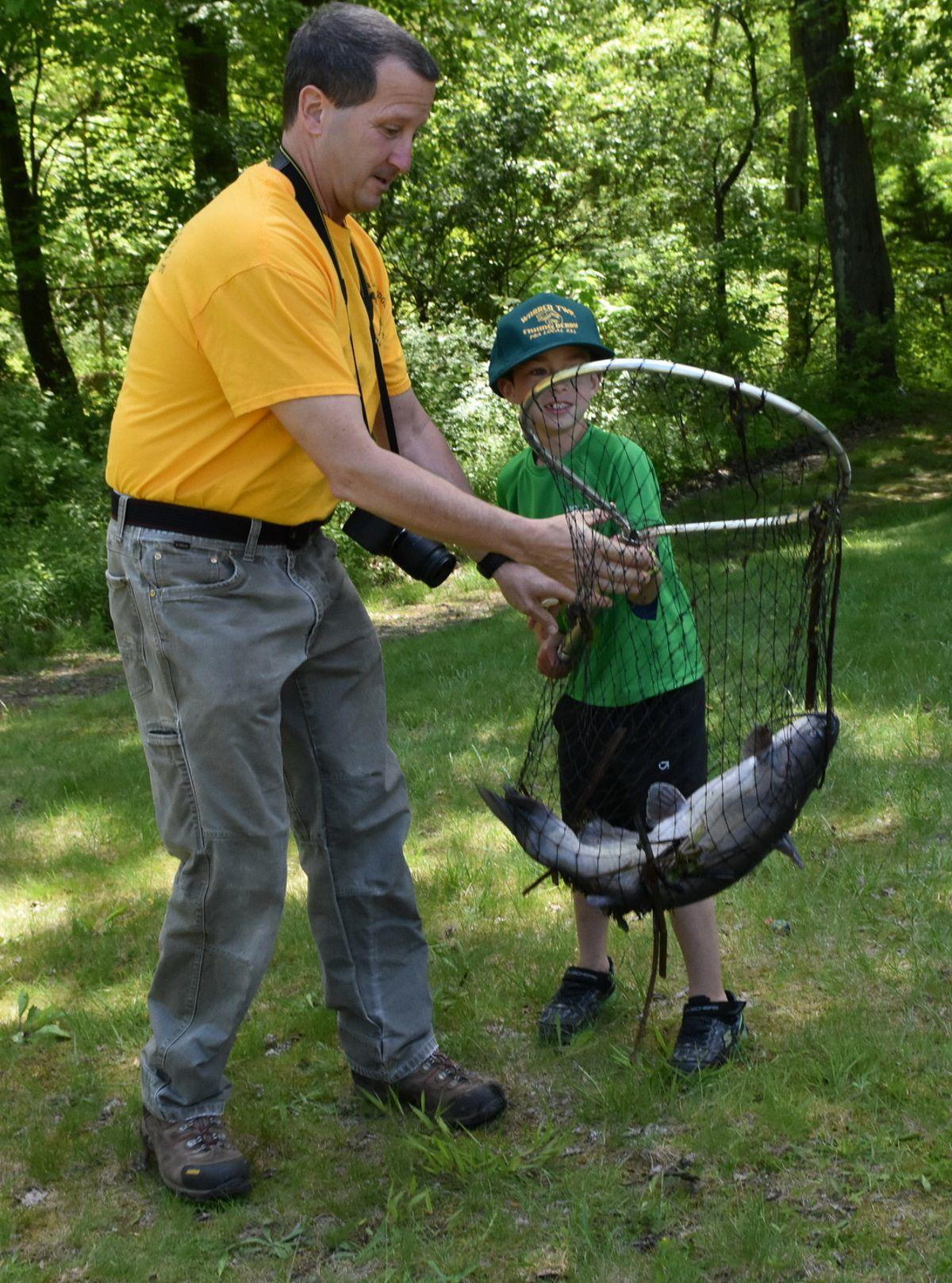 Big Catch For 8-year-old