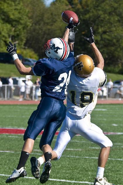Mendham High School Football —Mendham survives as defense stars