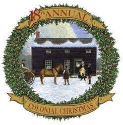 Colonial Christmas logo